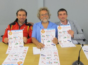 Da sinistra le guide alpine: Adriano Alimonta - Claudio Bassetti - Michele Dallapiccola