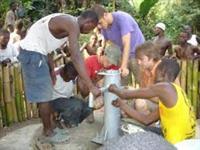 Uno dei pozzi d'acqua in Africa