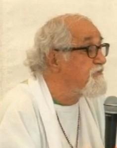 - Padre Alex Zanotelli durante l'omelia