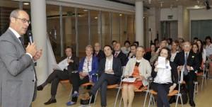 - Il presidente Ugo Rossi e pubblico in sala