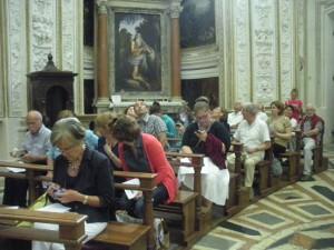 - Pubblico nella Chiesa dell'Inviolata