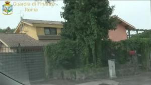 - Uno degli immobili sequestrato dalla Guardia di Finanza di Roma